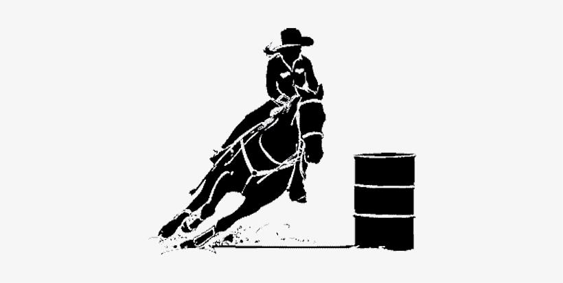 Free barrel racing clipart jpg freeuse Download Free png Rodeo Barrel Racing Clipart Barrel Racer ... jpg freeuse