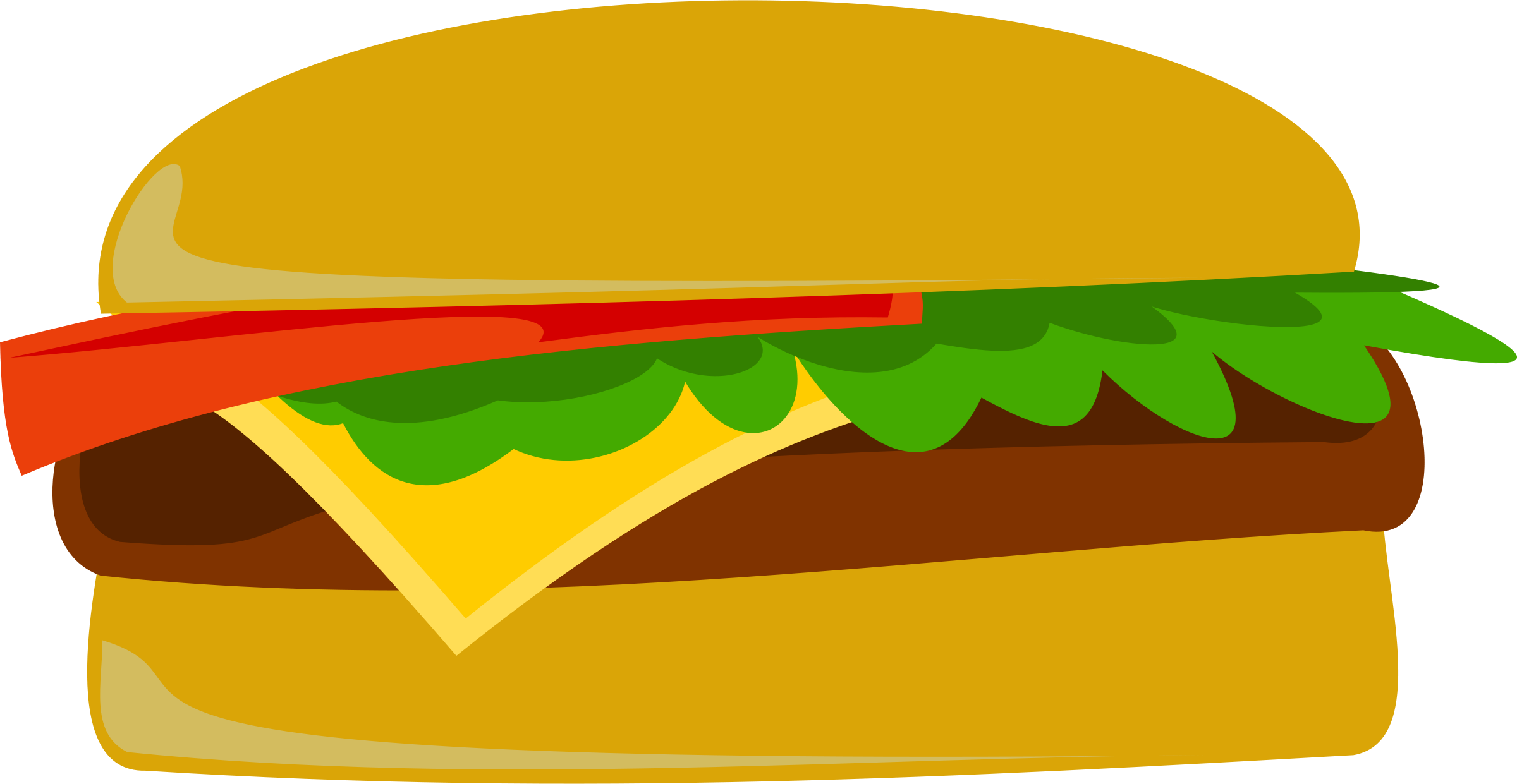 Hamburger and hot dog clipart vector freeuse stock Hotdog And Hamburger Clipart | Clipart Panda - Free Clipart Images vector freeuse stock