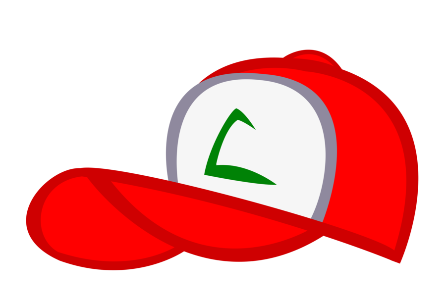 Clipart baseball cap you can add logo to vector transparent library Redo) Ash Ketchum's 1st hat in the style of mlp by kuren247 on ... vector transparent library
