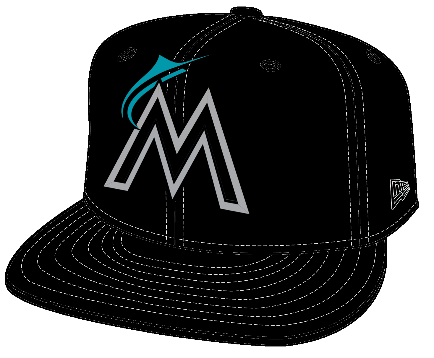 Clipart baseball cap you can add logo to png stock A Couple New Caps and Revised Logos for MLB Teams - Concepts - Chris ... png stock