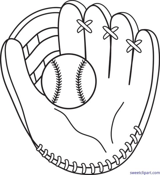 Clipart baseball mitt clip free All Clip Art Archives - Page 61 of 62 - Sweet Clip Art clip free