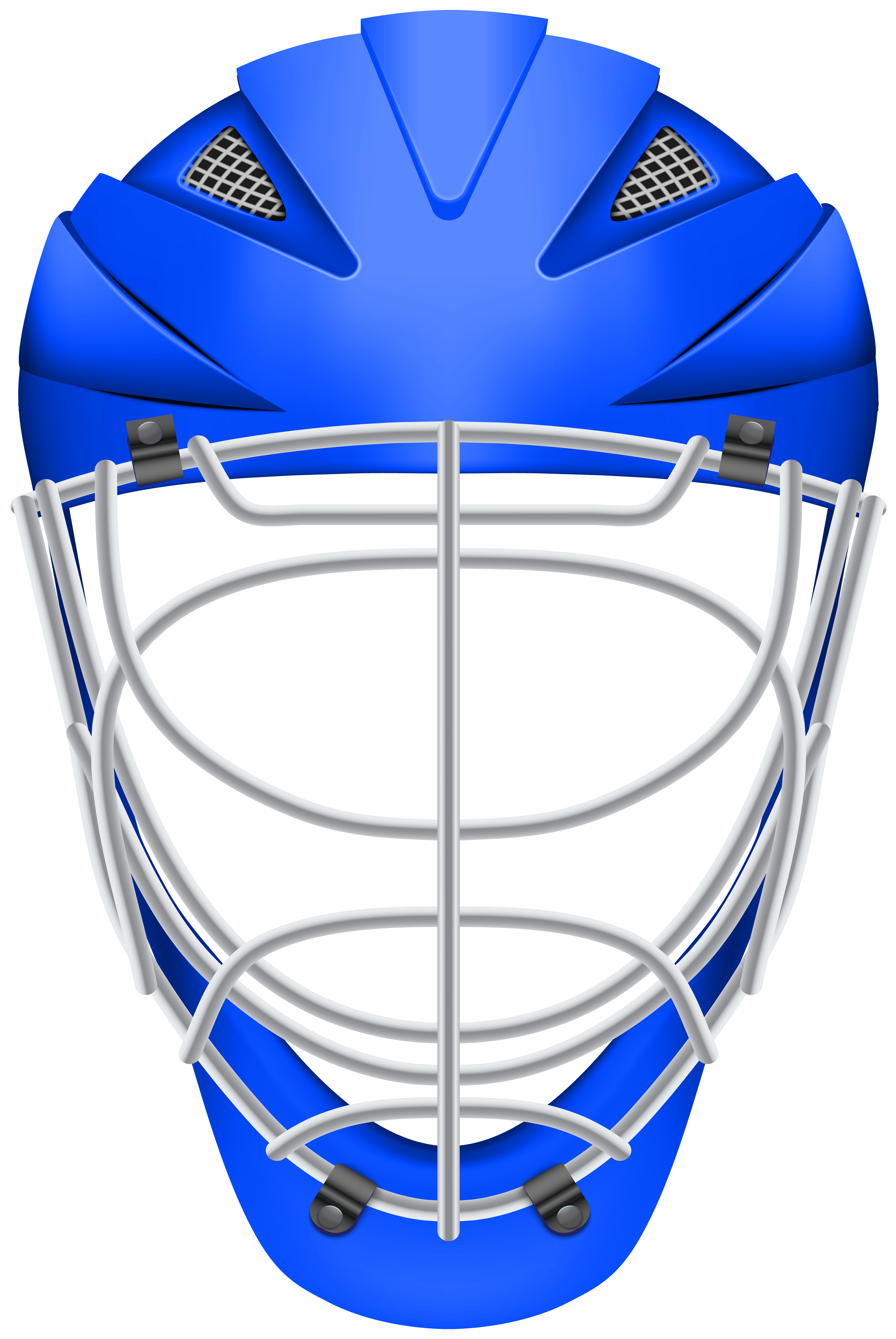 Clipart baseball with face picture transparent stock Hockey Helmet Blue PNG Clip Art | Gallery Yopriceville - High ... picture transparent stock
