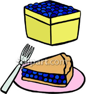 Library of vector library stock blueberry pie png files ...