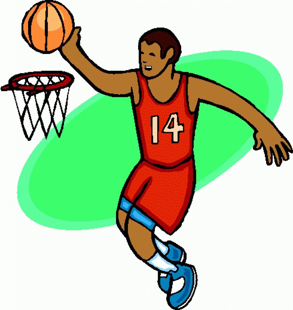 Clipart basketball game clipart. Clipartfest player clip art