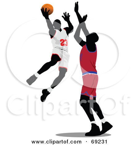 Clipart basketball game clipart. Royalty free rf illustration