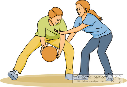 Clipart basketball game clipart. Kid family games clip