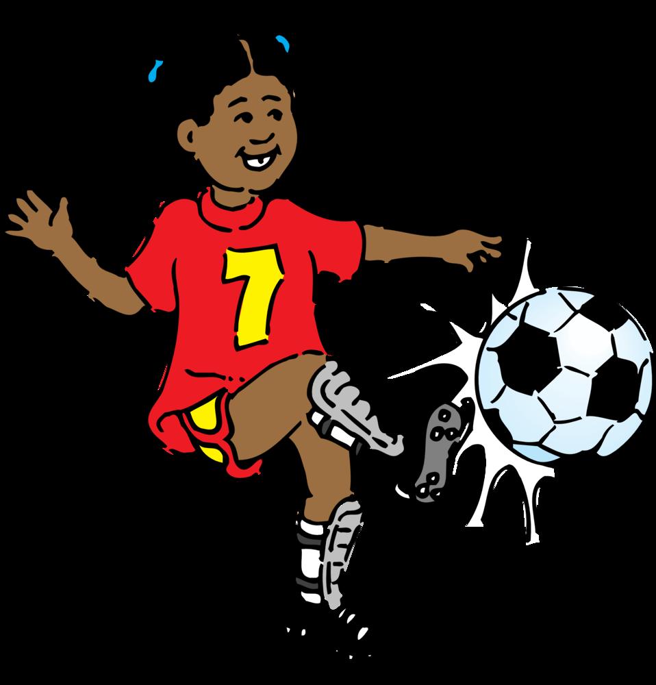 Clipart basketball girl jpg library stock Girl Kicking Soccer Ball Clip Art | Clipart Panda - Free Clipart Images jpg library stock