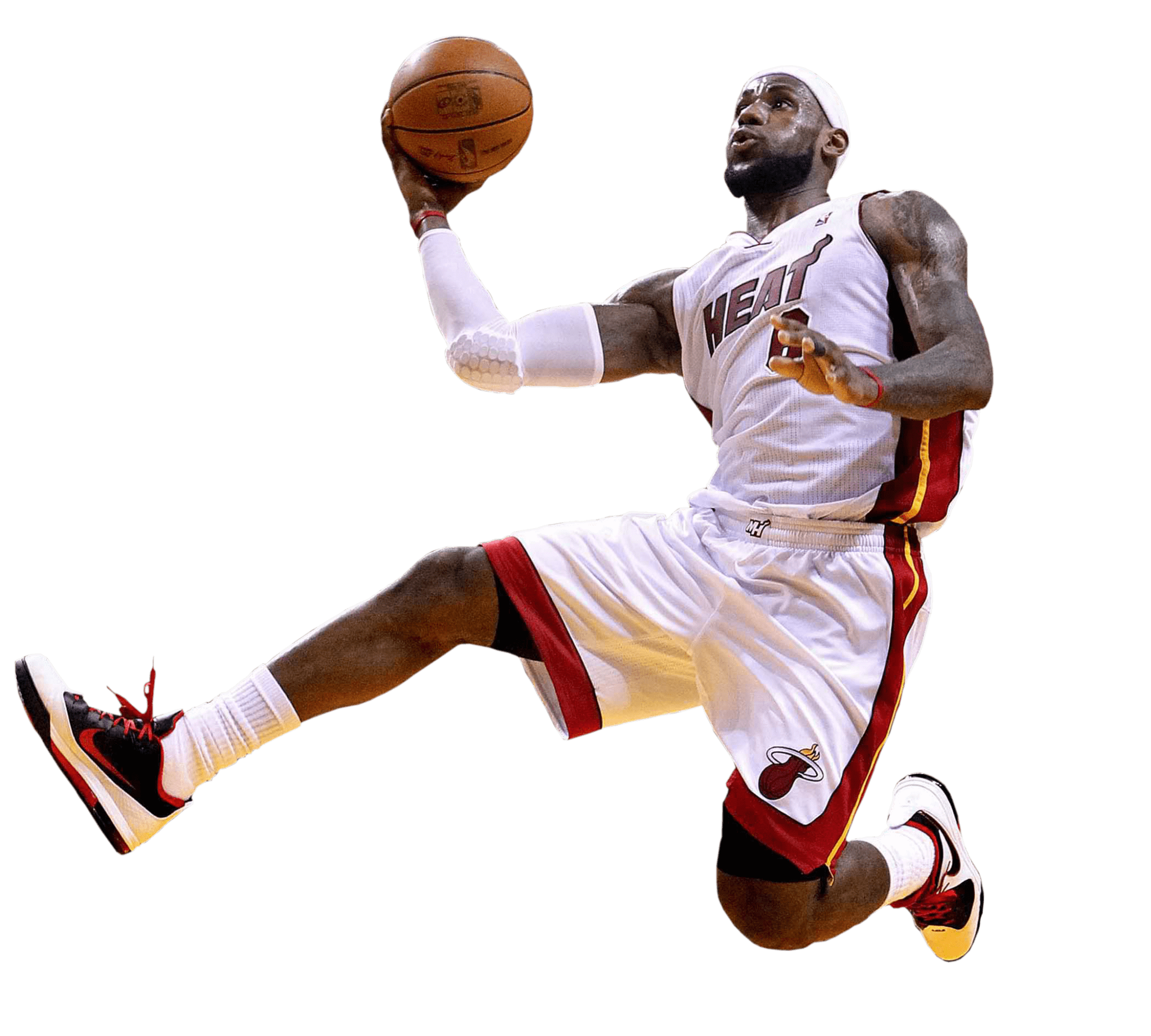 Clipart basketball player shooting picture freeuse stock Lebron James Shot transparent PNG - StickPNG picture freeuse stock