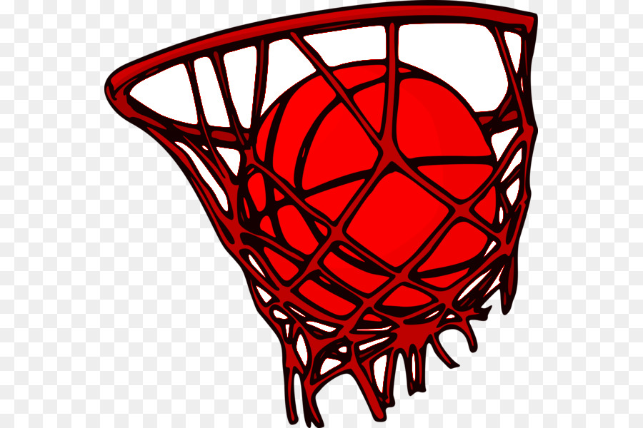 Clipart basketball red net clip art royalty free stock Basketball Cartoon png download - 607*600 - Free Transparent ... clip art royalty free stock