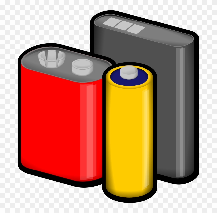 Why batteries clipart svg black and white download Battery Cliparts - Batteries Clipart Png Transparent Png (#207332 ... svg black and white download