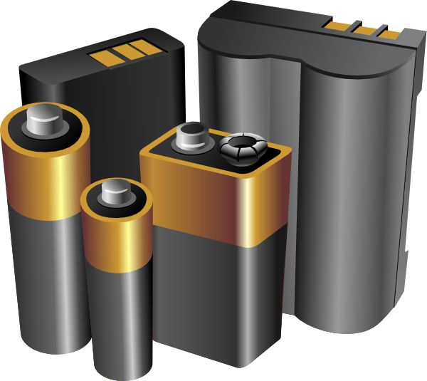 Why batteries clipart graphic free stock Batteries Clip Art at Clker.com - vector clip art online, royalty ... graphic free stock