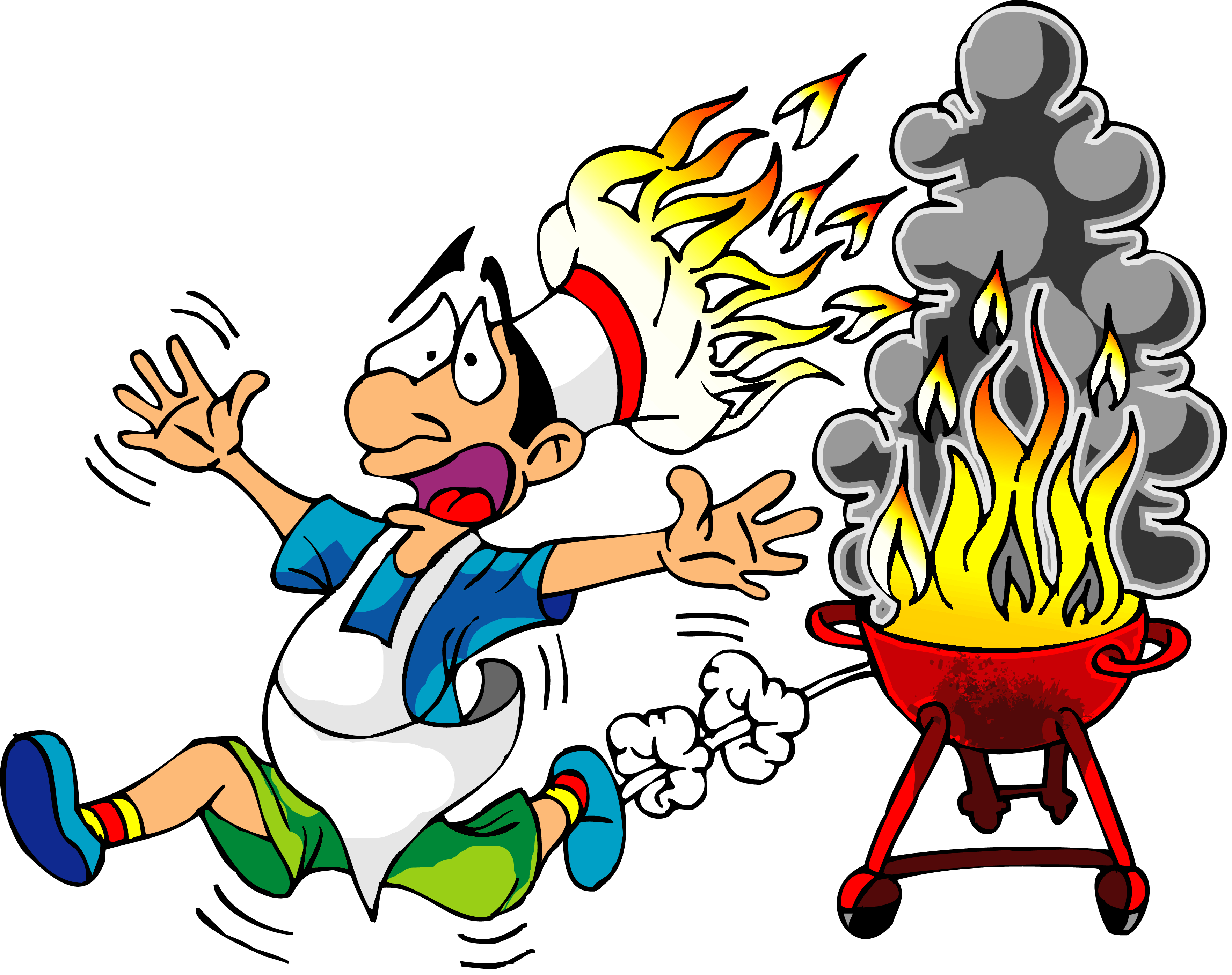 Clipart barbecue party picture freeuse library Best HD Bbq Party Clip Art Images ~ Vector Images Design picture freeuse library