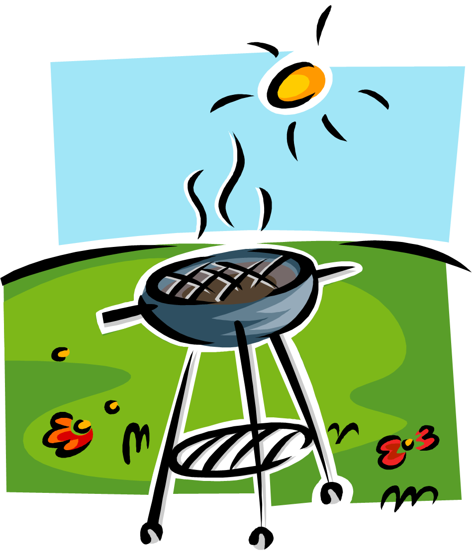 Clipart bbq party jpg black and white Summer Bbq Party Clip Art | Clipart Panda - Free Clipart Images jpg black and white