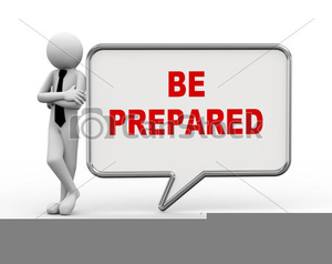 Clipart be prepared graphic royalty free download Preparation Clipart | Free Images at Clker.com - vector clip art ... graphic royalty free download