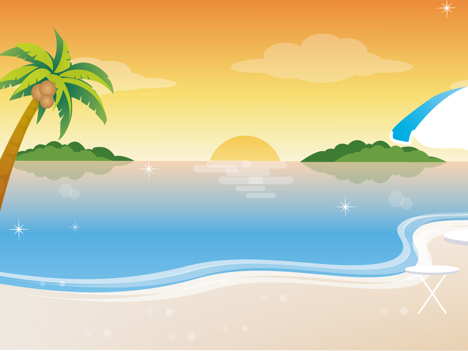 Clipart beach background image royalty free Free Beach Cliparts Backgrounds, Download Free Clip Art, Free Clip ... image royalty free