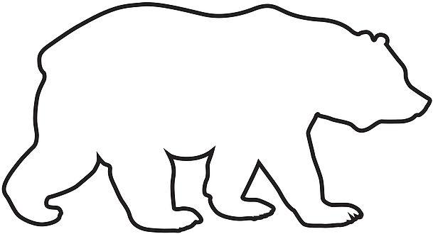 Clipart bear outline clipart download Bear Outline | Free download best Bear Outline on ClipArtMag.com clipart download