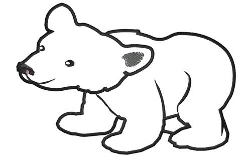 Clipart bear outline clip art free Free Bear Outline, Download Free Clip Art, Free Clip Art on Clipart ... clip art free