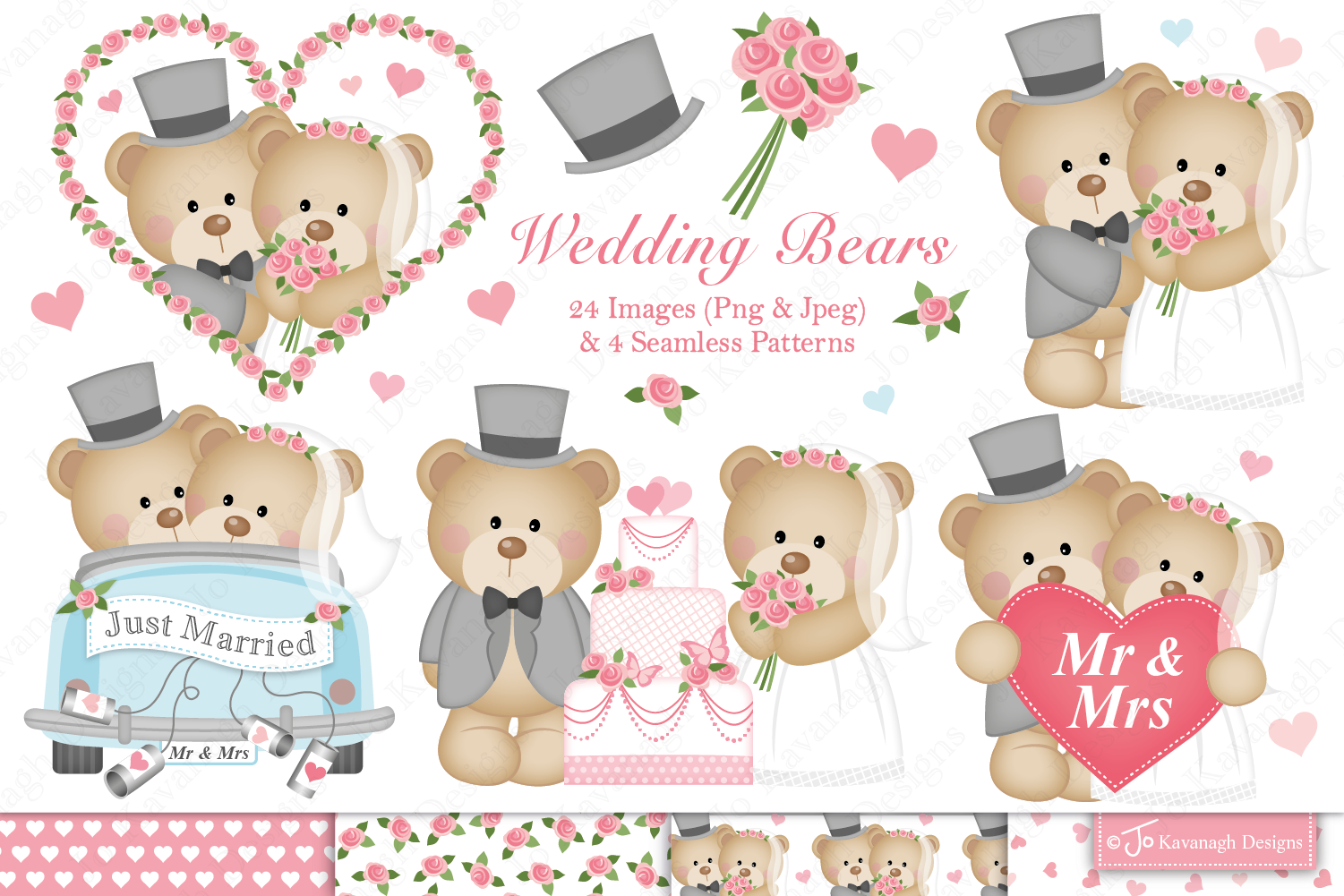 Clipart bear wedding graphic library download Wedding bears clipart -C34 graphic library download
