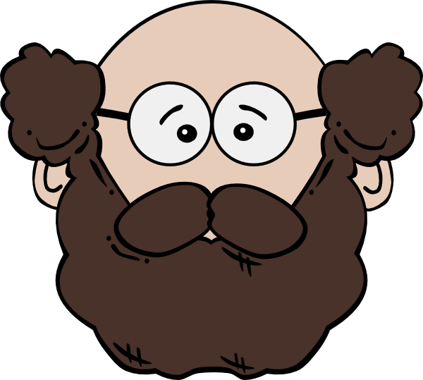 Clipart bearded man graphic library Bearded Man Clip Art at Clker.com - vector clip art online, royalty ... graphic library
