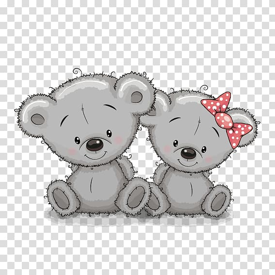 Clipart bears couples banner free stock Two white bear illustration, Bear cartoon couple transparent ... banner free stock