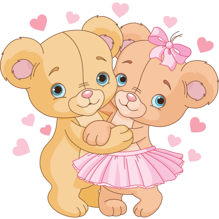Clipart bears couples png download Cute Teddy Bear Couple | Teddy Bears | Cute teddy bears, Cute love ... png download