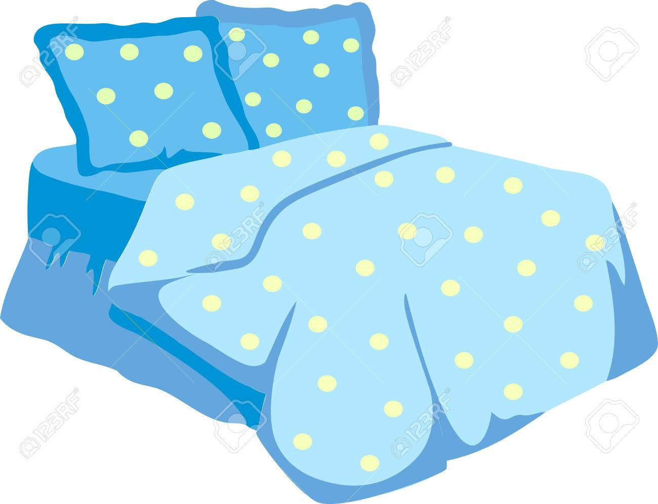 Clipart bed blanket jpg library stock Bedroom clipart blanket pillow - 196 transparent clip arts, images ... jpg library stock