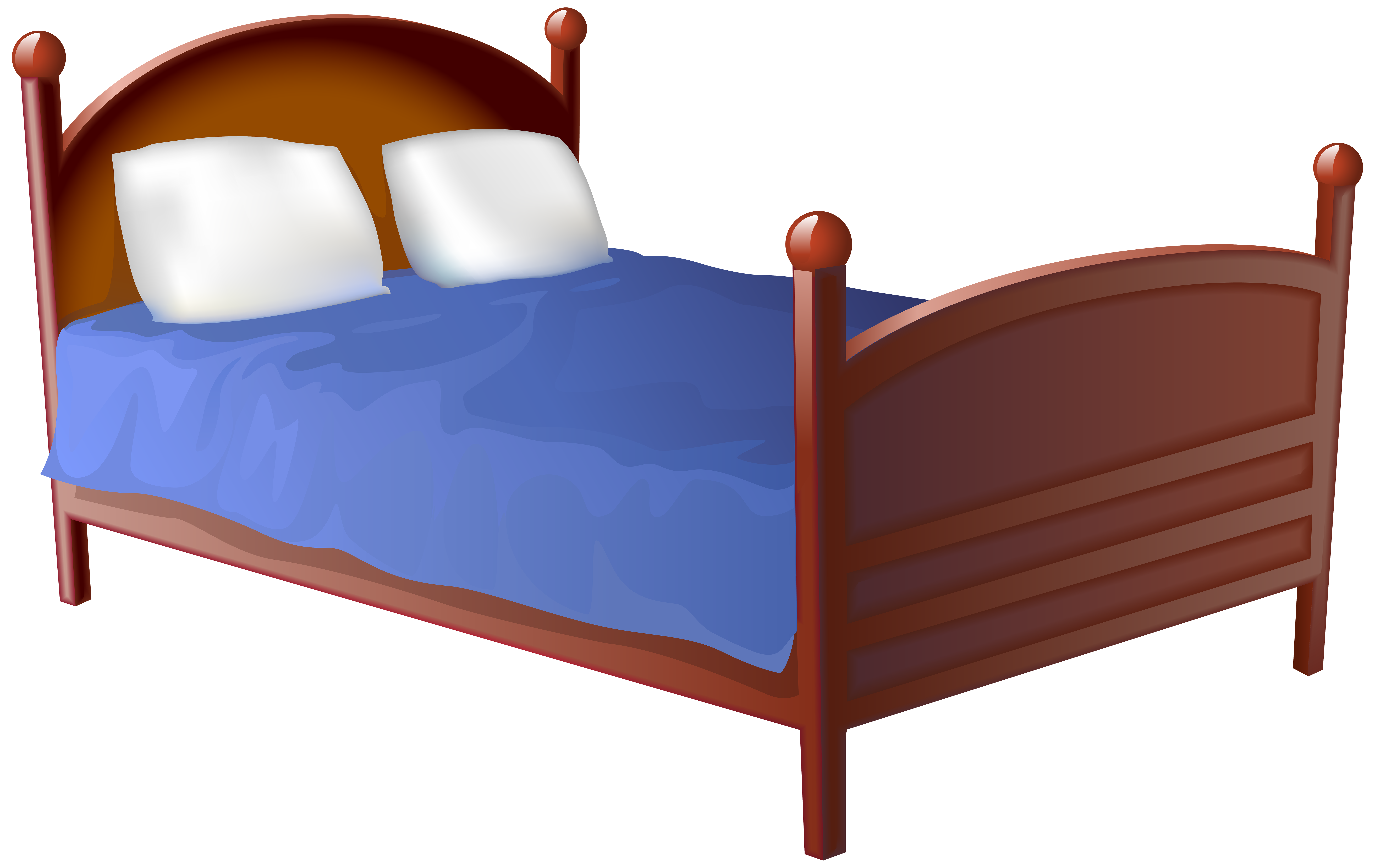 Clipart bed pictures image library Bed Transparent PNG Clip Art Image | Gallery Yopriceville - High ... image library