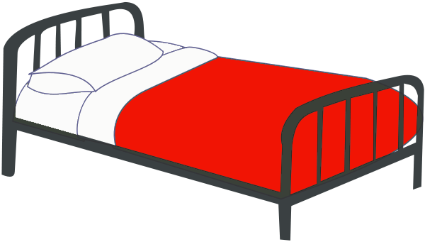 Clipart bed pictures png black and white 44+ Clipart Bed | ClipartLook png black and white