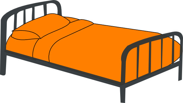 Clipart bed pictures graphic black and white library Free Pictures Of Beds, Download Free Clip Art, Free Clip Art on ... graphic black and white library
