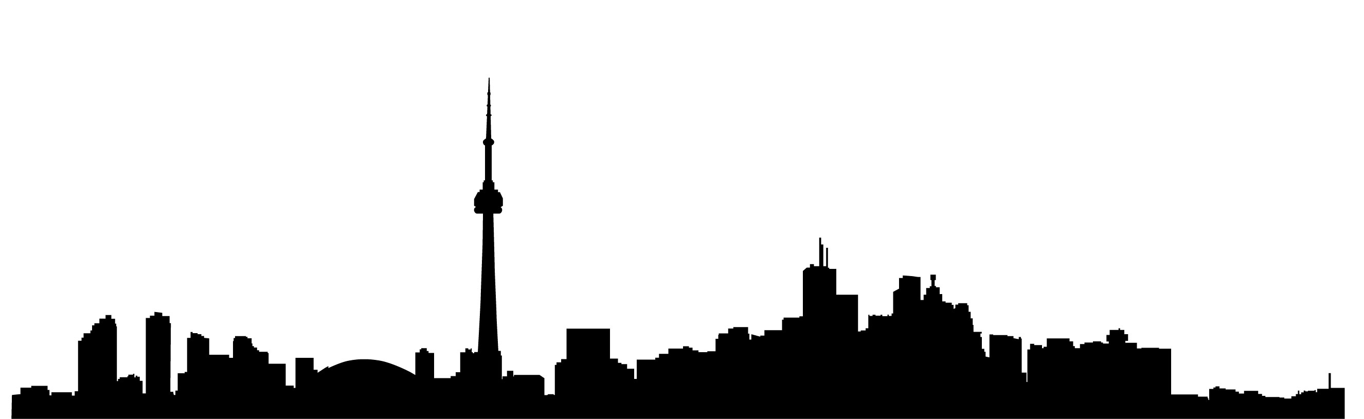 Clipart bedroom in city at night jpg free library City Skyline Silhouette Clipart | Free download best City Skyline ... jpg free library