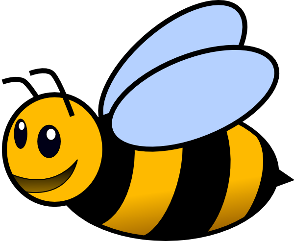 Pooh bear honey bee clipart no background png royalty free Bee Clip Art at Clker.com - vector clip art online, royalty free ... png royalty free