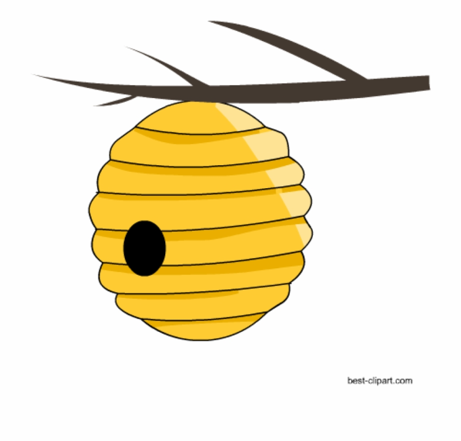 Bee hie clipart clipart transparent library Beehive Clipart Free Honey Bee And Beehive Clip Ar - Honey Bee House ... clipart transparent library