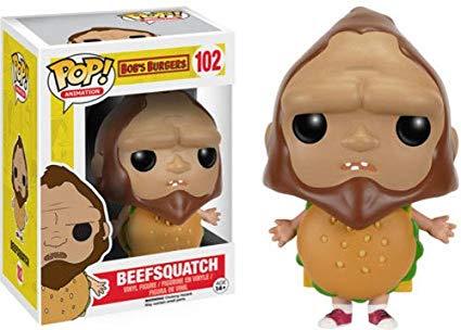 Clipart beefsquatch graphic transparent Funko POP Animation: Bob\'s Burgers - Beefsquatch Action Figure graphic transparent