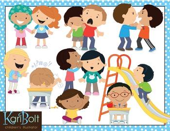 Behaviour clipart clip art free Behavior Good and Bad Clip Art clip art free