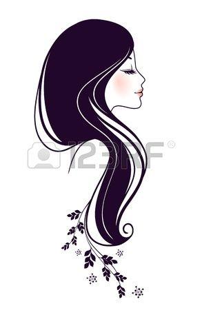 Photo illustration and illustrations. Clipart belle femme