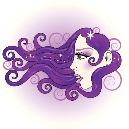 Clipart belle femme. Clip art vector images