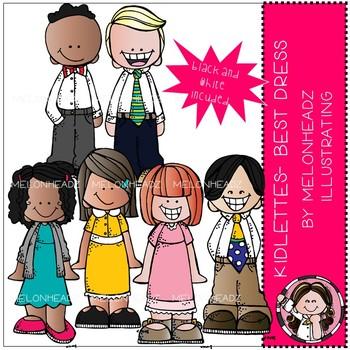 Clipart best dressed clip art free download Kidlettes clip art - Best Dress - Mini - Melonheadz Clipart clip art free download