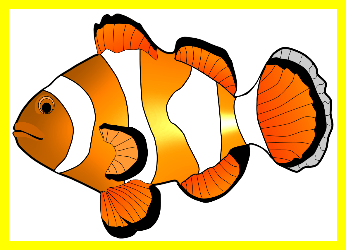Clipart beta fish graphic free download Marvelous Fried Fish Clipart Black And White Station Pict Of Style ... graphic free download