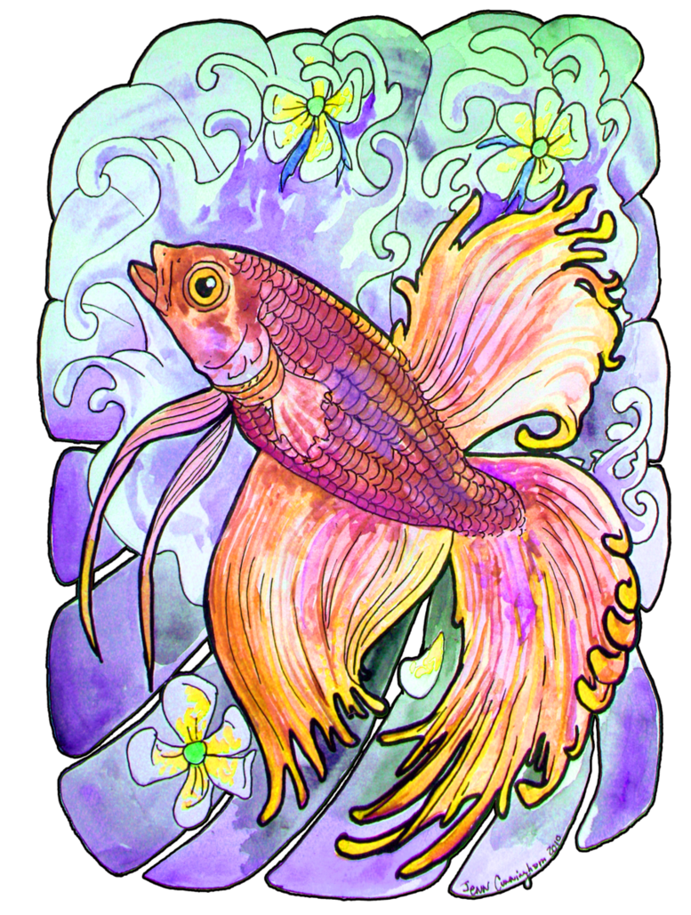 Clipart beta fish graphic library stock betta fish tweeked by jupiterjenny on DeviantArt graphic library stock