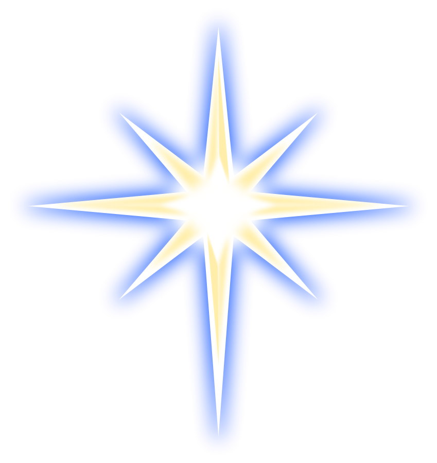 Star of bethlehem clipart free library 28+ Collection of Christian Clipart Christmas Star | High quality ... library