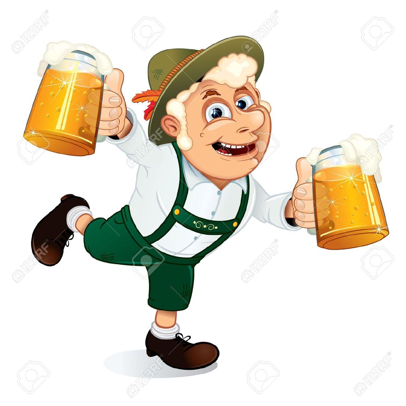 Clipart betrunkener mann graphic royalty free Urkomisch Betrunken Mann Mit Becher Bier Zu Hände Auf Ein ... graphic royalty free
