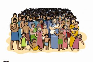 Clipart bible crowd