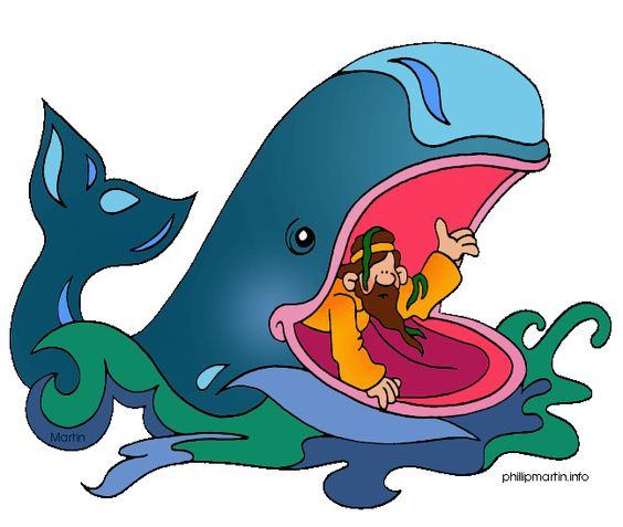 Jonah series by ministry. Clipart bible for kids