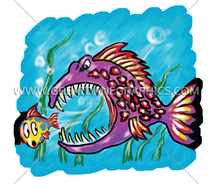 Fish on land clipart. Big little production ready