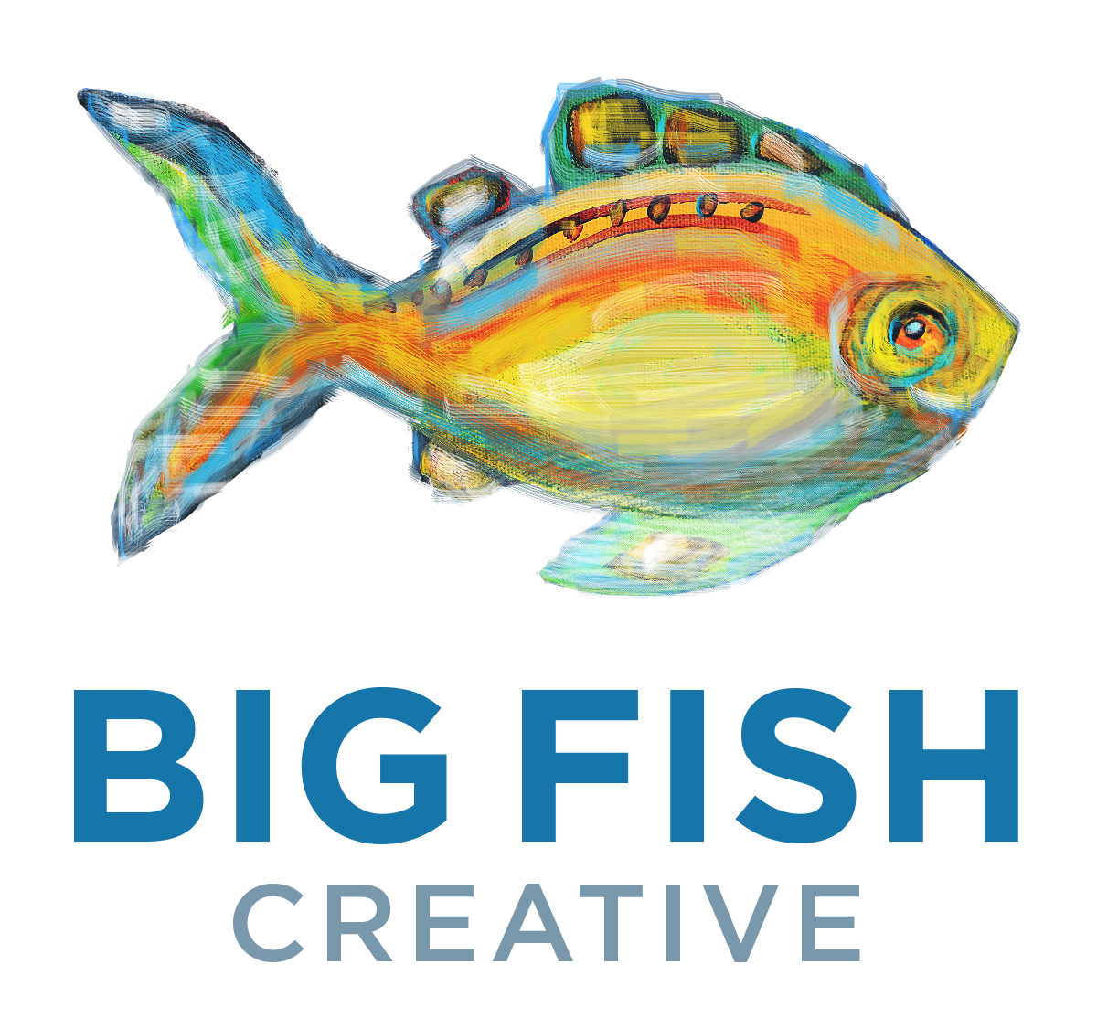 Clipart big fish free png library library Big Fish Creative — BIG FISH CREATIVE png library library