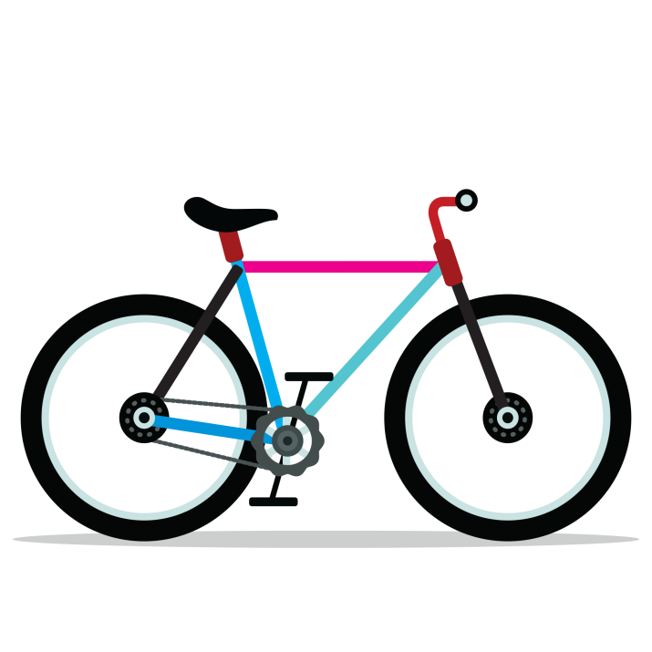 Clipart bike hd