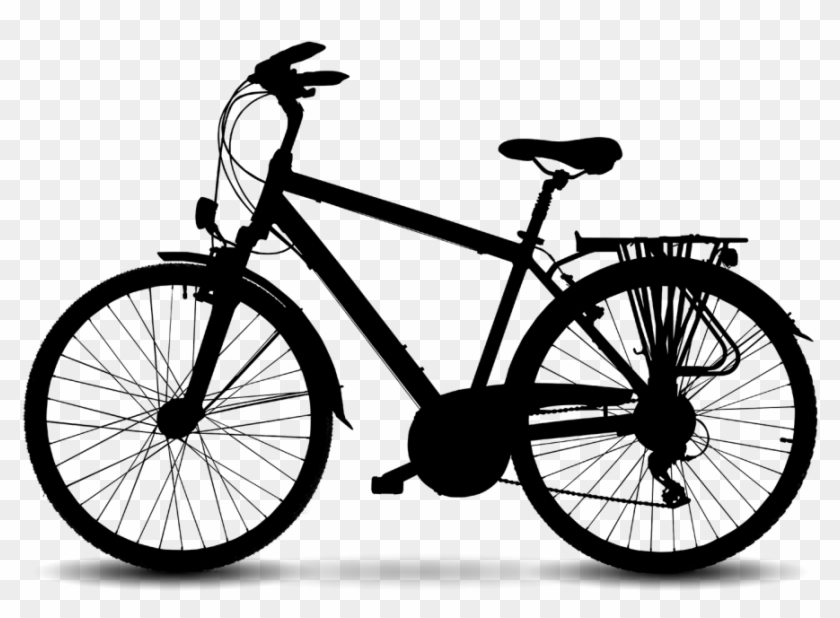 Clipart bike hd image transparent stock Mountain Bicycle Electric Bike Racing Road Clipart - Turbo Trainer ... image transparent stock