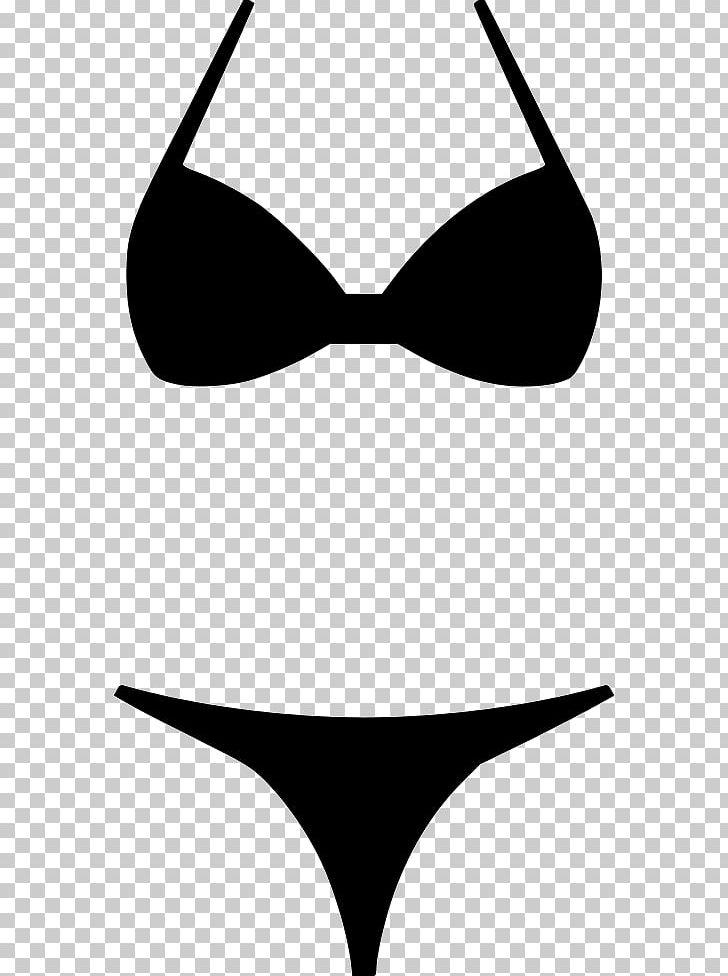 Clipart bikini picture free download Bikini Swimsuit PNG, Clipart, Bikini, Black, Black And White ... picture free download