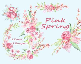 Clipart bilder fest freeuse Daffodil wreath | Etsy freeuse