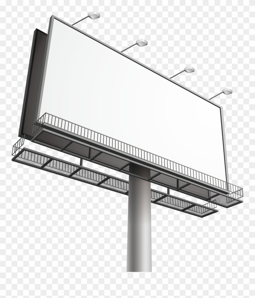 Clipart billboard banner freeuse Billboard Out Of Home Advertising Clip Art - Png Download (#2452469 ... banner freeuse